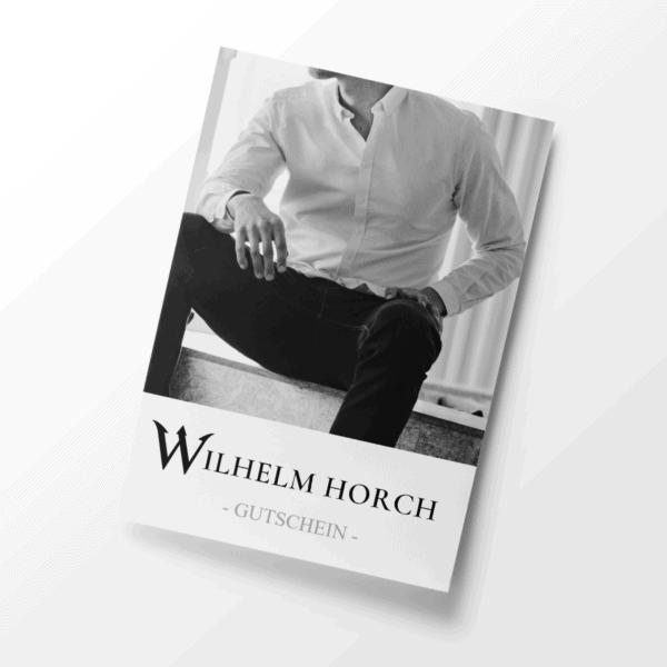 Gutschein Hemd Wilhelm Horch