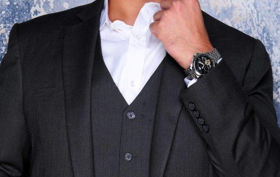 grauer Anzug, Dreiteiler